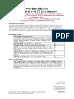 Site Survey Automated Retail - IT v6.5 2019-05-02