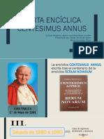 Carta Encíclica Centesimus Annus
