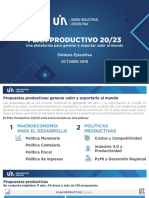 Plan Productivo 20-23