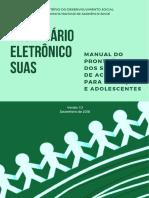 Manual Prontuario Eletrônico Do SUAS Acolhimento de Criança e Adolescente