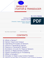 13- Ch. 1 Basics of Sensor, Actuator Transducer