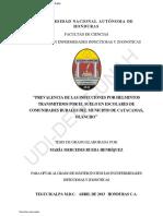 GEOHELMINTOS EN HONDURAS