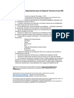 Consideraciones Importantes Para El Soporte Técnico en Las IIEE JEC