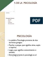 Origen de La Psicología y Principales Corrientes Psicológicas Segundo Parcial-1