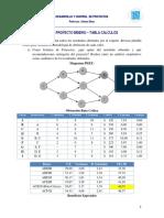 Caso Proyecto Minero Tablas Cálculos