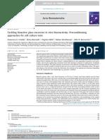 Ciraldo2018.Tackling Bioactive Glass Excessive in Vitro Bioreactivity
