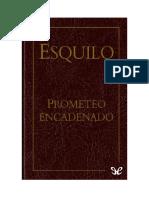 Esquilo - Prometeo Encadenado .docx