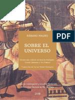 Rabano Mauro - Sobre El Universo