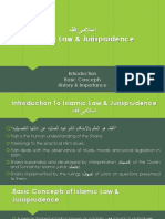 Introduction to Islamic Law and Jurisprudence