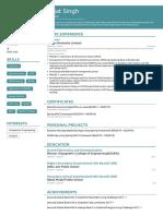 Architect Sample resume