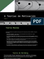 6 Teorías de Motivación