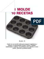 1 molde 10 recetas