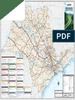 Mapa Rodovias CART