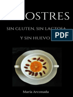 25 Postres Sin Gluten, Sin Lactosa y Sin Huevo