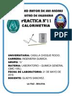 Informe Lab Quimica Calorimetria[1]