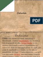 Celula UMANA -ppt