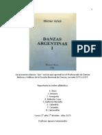141-Danzas-Argentinas- Cartilla 1 1 Hector Aricó