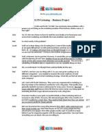 Business Project Transcript