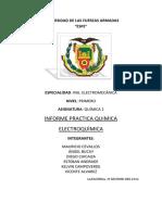Informe de Química-electricidad.