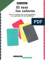 Manual Test de Los Colores