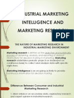 Industrial marketing intelligence