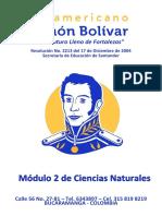 ISSIB009 Módulo 2 de Ciencias Naturales