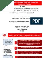 Ppt Estructura Evaluacion Parcial 2019-2