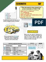 Plano hidráulico D8T Caterpillar
