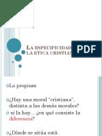 Tm 6. La Especificidad de La Etica Cristiana