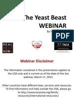 the Yeast Beast WEBINAR