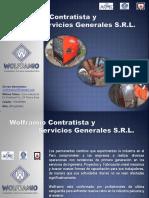 Brochure Wolframio Srl