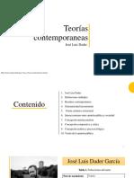 presentación teorías contemporáneas