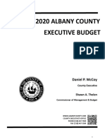 2020 Albany County Budget