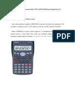 Calculadora em Estatistica Descritiva