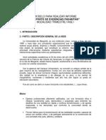 Ejemplo Informe Reporte de Evidencias de Aprendizaje Pasantías Fase I