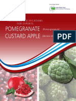 APEDA Packing Pomogranate Custard Apple
