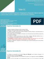 2019 - Derecho de Garantías - Taller 01
