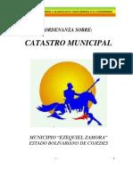 Ordenanza-catastro 2017 31 de Agosto 2017