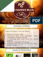 Coffee Plus Cafe Group 5