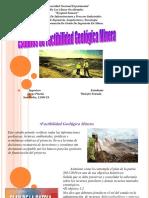factibilidad geologica diapositivas