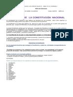 Taller Sobre La Constitucic3b3n Polc3adtica Grado Quinto
