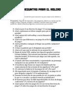 Kit Preguntas Para El Rolero