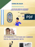 Patrimonio y Estado de Cambios en El Patrimonio Mayo 2011