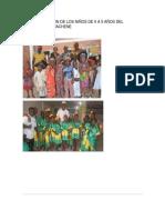 Caracterizacion de Los Niños de 0 a 5 Años Del Municipio de Guachene
