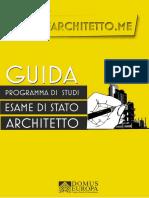 Guida Esame di Stato Esame Architetto Oct 2019