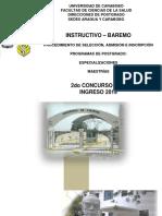 Instructivo Baremo2018 2019 2do Concurso