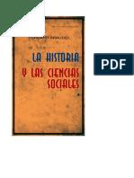 Braudel - La historia y las ciencias sociales