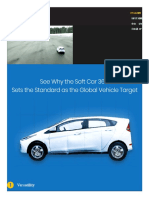 Soft Car 360 - Global Vehicle Target (GVT) for Driver Assistance and Autonomous System Testing