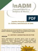 Licenciatura Gestión y Administración de Pymes