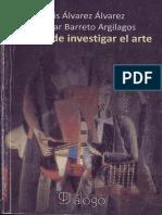Investigar en el arte